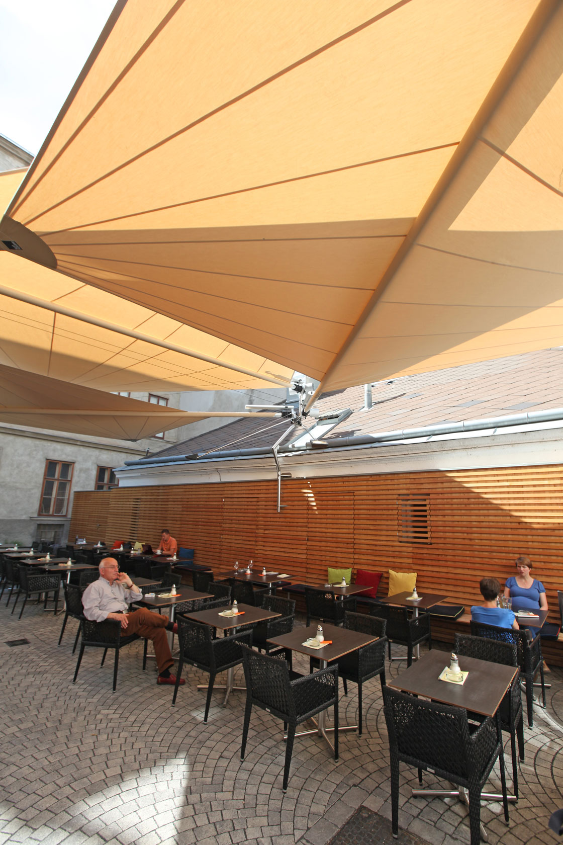 Ffentlich Elektrische Sonnensegel Wiesbaden